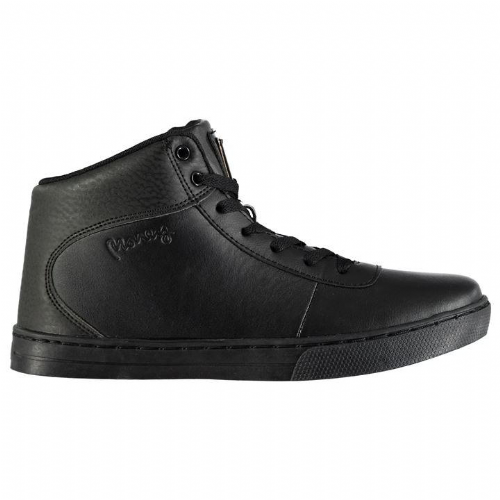 Born Rich Hi top  All Black Casual Shoe Trainer